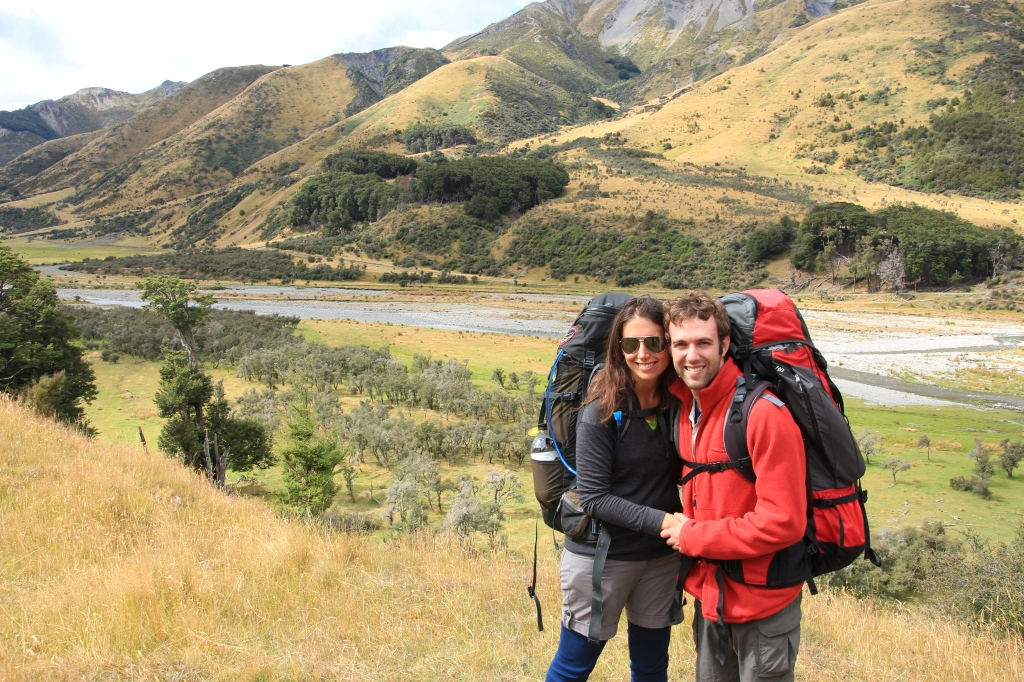 One tramping couple