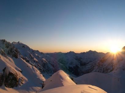 Sunrise on Sunday morning