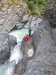 Boulder hopping and river crossings!