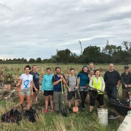 CUTC helps the Middelmost Mudfish Project